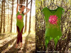 Дизайнерская одежда в эльфийском стиле.