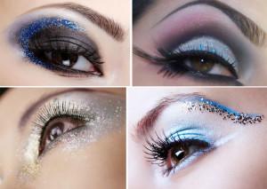 Как накрасить глаза на Новый год.