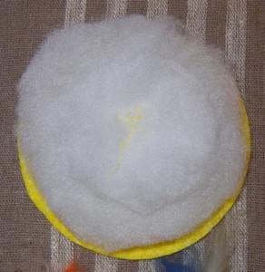 Декоративная подушечка – солнышко, сувенир на Масленицу.