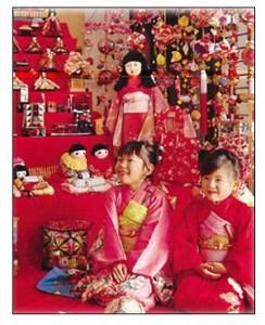 3 марта — праздник девочек в Японии.
