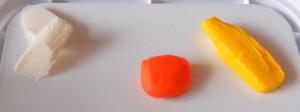Пуговки из полимерной глины с детьми. Первый опыт.