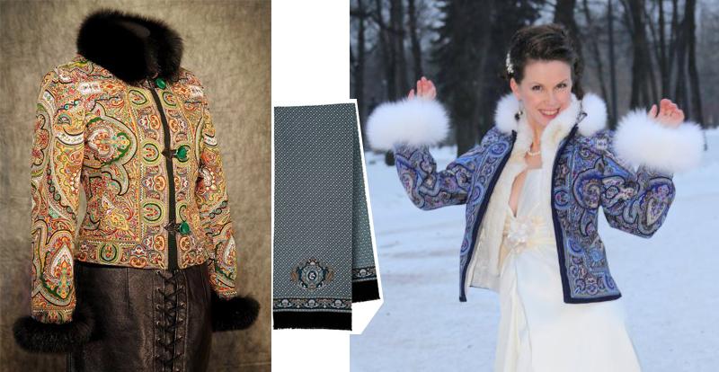 Купить Куртку Из Павлопосадских Платков
