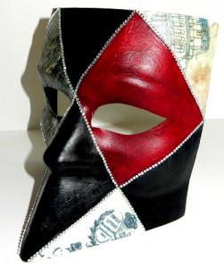 Оформление венецианской маски своими руками