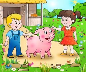Авдеенко Кирилл. Стих для детей «Свинка – почесушка»