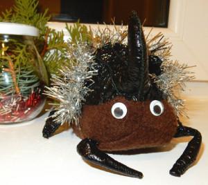 Творческое задание: сделать новогоднюю игрушку – своего любимого литературного героя