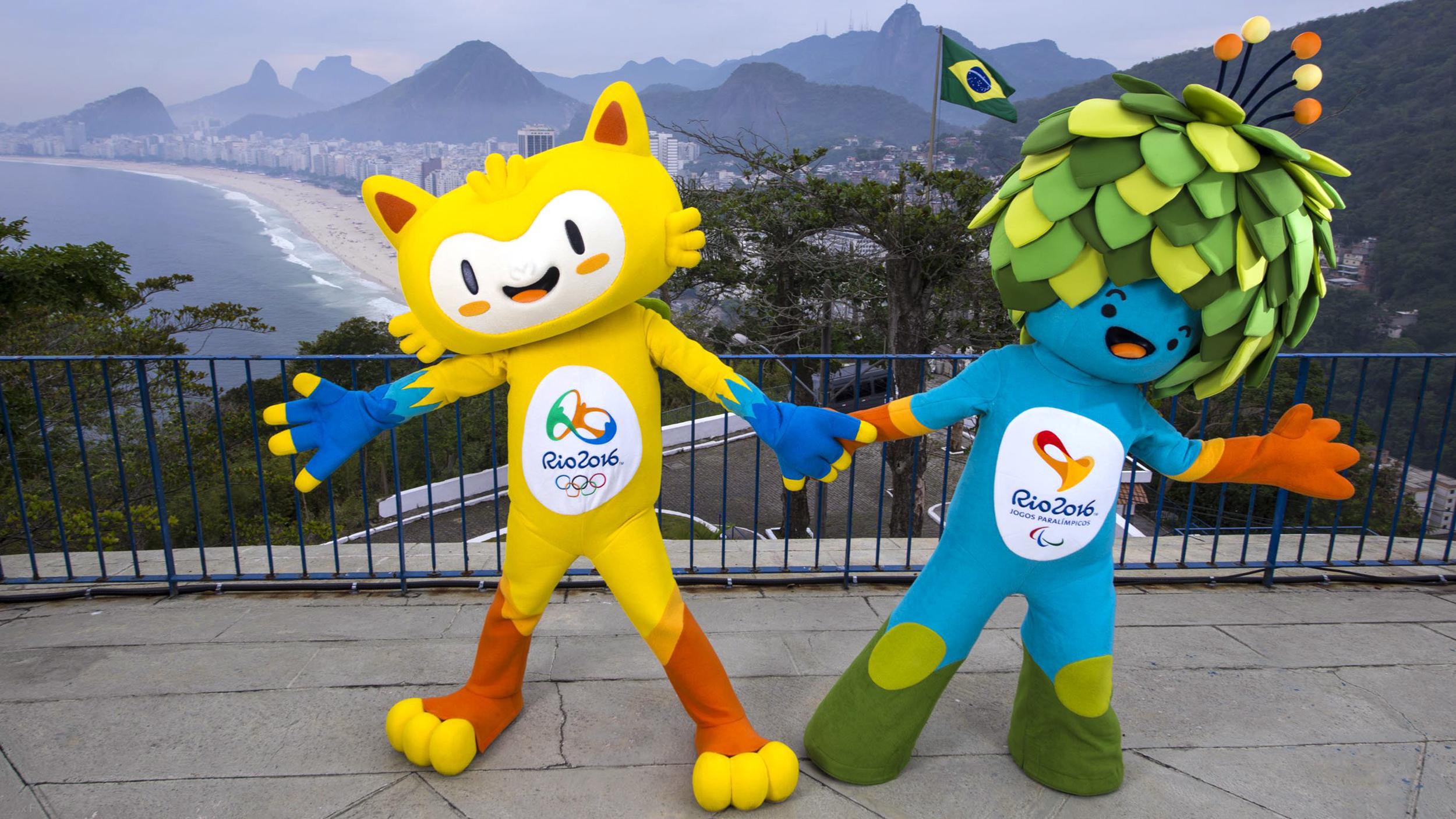 Талисман Олимпиады 2018 в Рио-де-Жанейро: Фото логотипа, монет, плаката, талисмана
