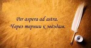 Фразы, цитаты на латинском языке с переводом