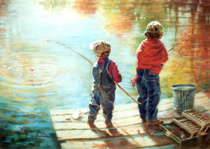 Стихи про рыбалку для детей