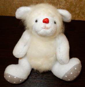 Мягкая игрушка «Белый гоблин» своими руками