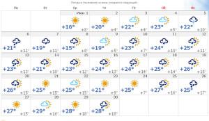 Синоптики обещают дождливое лето 2016 в Ульяновске