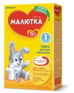 Простые конфетки из смеси Малютка